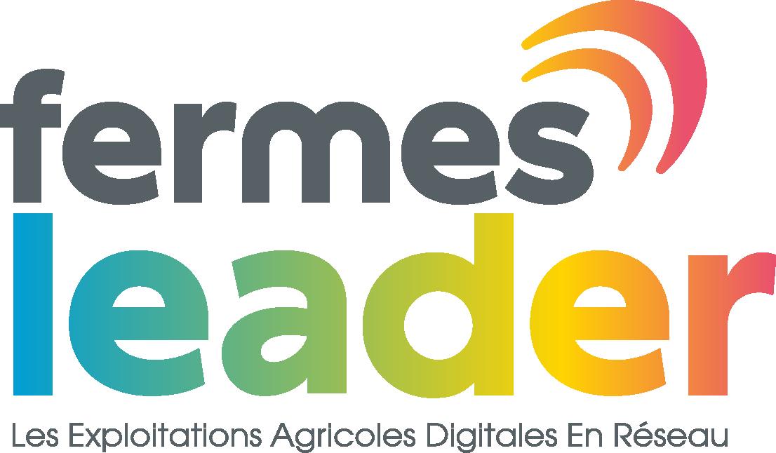 logo Fermes LEADER réseau exploitations agricoles
