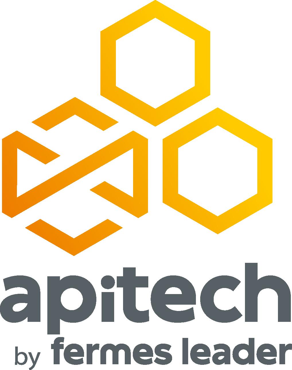 logo Apitech by Fermes LEADER réseau de ruches connectées